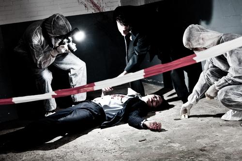 Limpiar la escena de un crimen