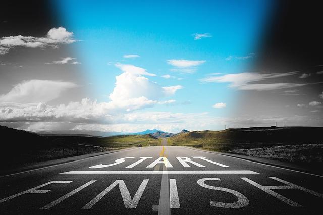 Un camino, principio y final de meta, dos caras de una moneda