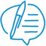 Escritura, icono de escritura