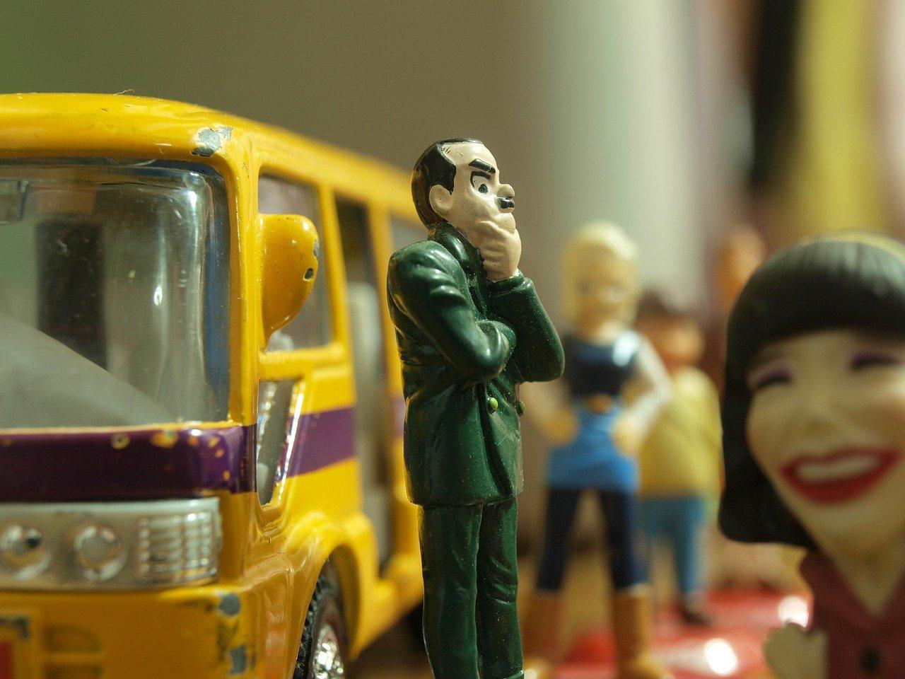 Personajes internos que puedes encontrar en un autobus