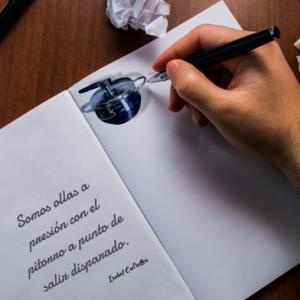 Una olla a presión como inicio de nuestra escritura
